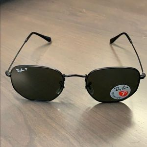 Ray-Ban Hexagon Polarized Sunglasses